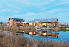 Retreat to this fabulous mountain lake house in Colorado's high desert #house #lake #mountains #retreat