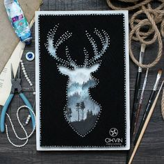 String Art - Seaone Infoprodutora - learn a new skill - Online Courses, Members Area, Subscription Services 5 Min Crafts, Arts And Crafts, String Art Diy, Fundraising Crafts, String Art Patterns, Thread Art, Pin Art, Wood Art, Art Projects
