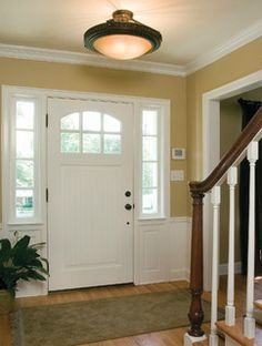 Foyer - Traditional - Entry - minneapolis - by Anna Berglin Design