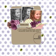 I know, I'm being really crazy on this big Digital Scrapbooking day. I hope you have been inspired to give Digital scrapbooking a try by using My Digital Studio from Stampin' Up! In my last post I shared that I l