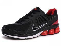 Chaussures Nike Shox QB Noir/ Blanc/ Rouge [nike_12116] - €49.87 : Nike Chaussure Pas Cher,Nike Blazer and Timerland  http://www.facebook.com/pages/Chaussures-nike-originaux/376807589058057