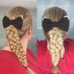Top 100 hairstyles for school photos A simple #fivestrandbraid today with this cute bow from @kmartaus 😊 #petreahairstyles #fivestrand #lacebraid #frenchlace #dutch #french #dutchbraid #frenchbraid #hair #braid #braids #style #hairstyle #hairstyles #styles #braidideas #braidinspo #blondehair #blondhair #blonde #blond #hairforschool #hairforwork #hairstylesforschool #hairstylesforwork...