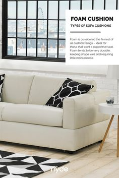 Types Of Sofa Cushions   Foam Cushions