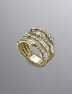 David Yurman.  I actually have this piece and it's gorgeous on your finger!  I love it.
