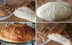 Zázračný chlebíček bez hnětení | NejRecept.cz Bread Recipes, Cooking Recipes, Banana Bread, French Toast, Food And Drink, Homemade, Baking, Eat, Breakfast