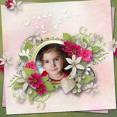 Layout Design, Layouts, Floral Wreath, Scrap, Wreaths, Antiques, Blog, Home Decor, Antiquities