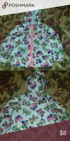 Cherokee Toddler Wind Breaker Beautiful butterfly toddler wind breaker Jackets & Coats