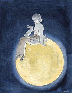 by Schinako Moriyama #Moon