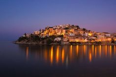 Kavala, Greece Been here! Where Paul landed in Greece. A beautiful city! Places Around The World, Oh The Places You'll Go, Places To Travel, Places To Visit, Around The Worlds, Travel Destinations, Thasos, Mykonos Greece, Athens Greece