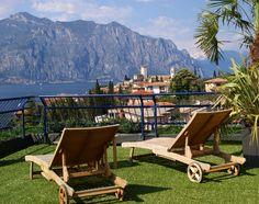 Hotel Capri, Lake Garda, Italy. http://dailytravelideas.com/