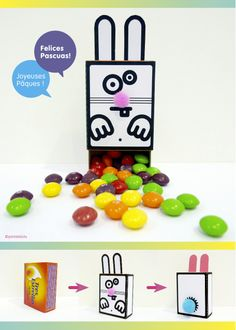 DiY / Conejo de Pascua / Lapin de Pâques / Easter Rabbit / http://pintatelotu.com/felices-pascuas-joyeuses-paques/