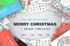 Merry Christmas Concept by Blogoodf on @creativemarket