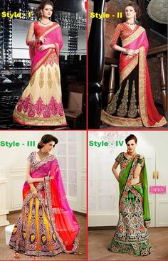 How to Wear Lehenga Saree in Different Styles