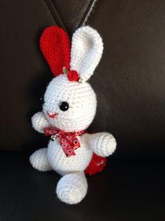 "Konijntje nav het patroontje : ""sleeping-bunny"""