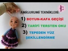 3 FARKLI TEKNİK 1 VİDEODA (Amigurumi Teknikleri) - YouTube