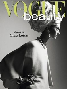 Vogue Italia Beauty | Codie Young & Alina Baikova by Greg Lotus | Dec. 2011