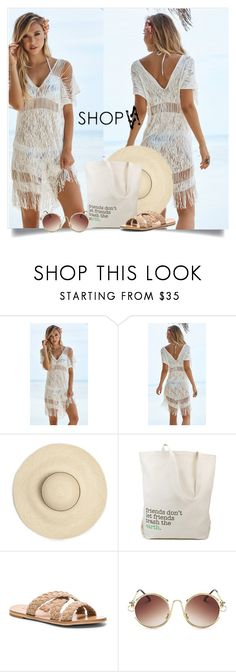 """""""SHOPAA"""" by elly-852 ❤ liked on Polyvore featuring Beach Bunny and Dogeared"""