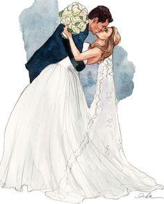 Wedding.....   Fashion Illustration