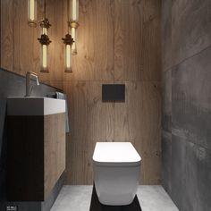 WC_28.10.17 Casa San Sebastian, Interior Design Toilet, Ideas Baños, Reno Ideas, Home Reno, Loft, Bathroom, Walls, Bathrooms