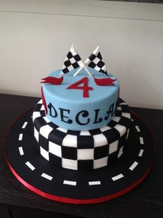 Hot Wheels Inspired Cake By stephyyz on CakeCentral.com
