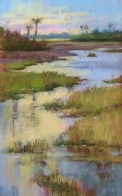 Image result for pinturas paisajes al pastel