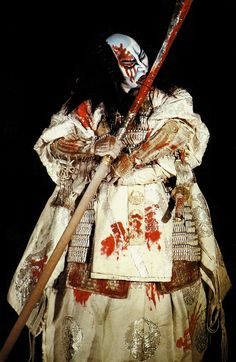 The Japanese theater Kabuki | Le théâtre kabuki, populaire et urbain - le mot kabuki signifie d'ailleurs « extravagant » [1]- naît au début du XVII ème siècle.