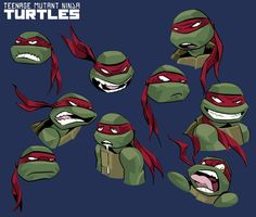 The many faces of Raphael.