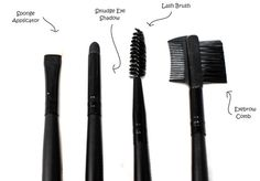 Make Up Brushes and Their Uses – My Make Up Brush Set