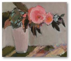 ❀ Blooming Brushwork ❀ - garden and still life flower paintings - Liz Gribin