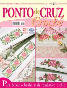 Ponto de Cruz & Crochê Banho nº 04