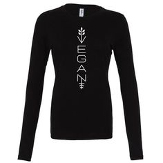 Be vegan and stylish with this awesome modern vegan shirt! Product Details: - Modern Vegan. - Long sleeve vegan shirt from our Vegan Clothing collection. - 100% Combed ring-spun cotton, 30 singles, 4.