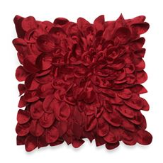 Starburst Petal Layered 16 Square Decorative Toss Pillow - Bed Bath & Beyond