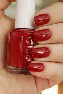 "Essie ""Size Matters"" - best red (not orange, not purple, not pink) nail polish in the universe"