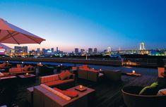 Tokyo restaurant terrace lounge