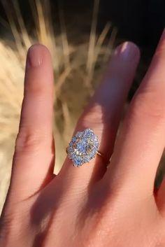 Diamond Ice, Diamond Rings, Diamond Jewelry, Diamond Cuts, Jewelry Rings, Diamonds And Gold, European Cut Diamonds, Dream Engagement Rings, Vintage Engagement Rings