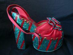 Pelican platform shoes (the brand Ziggy Stardust wore;)