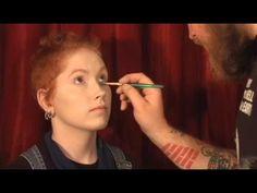 Zombie Makeup Tutorial #1 - Freshly Dead