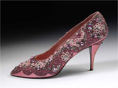 """The BN1: The Gorgeous Golden Age of Couture ♥ """"... Oh and don't forget the shoes! (Roger Vivier for Christian Dior, 1958 and 1954 respectively)..."""""""