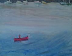 The Red Canoe, copyright: Susan Smith