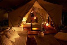 Luxury camping in Kenya... Looks AMAZING!