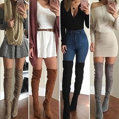 👇 girly outfits, casual fall outfits, holiday o Teenage Outfits, Teen Fashion Outfits, Mode Outfits, Girly Outfits, Cute Fashion, Outfits For Teens, Look Fashion, New Outfits, Chic Outfits