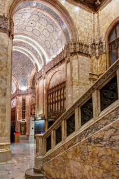 Ogle the Woolworth Building's Stunning, Rarely Open Lobby Historical Architecture, Amazing Architecture, Interior Architecture, Art Nouveau, Woolworth Building, Windsor Castle, Art Deco Design, Historical Sites, Barcelona Cathedral