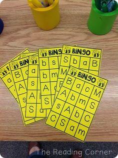 Beginning Sound Bingo and Math Daily 5 Ideas