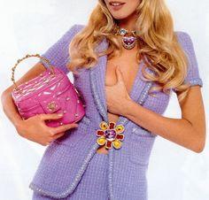 Claudia Schiffer - Chanel S/S 1995