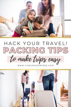 Family trips are one of our favorite ways to make memories, but getting everyone packed and ready is no small feat. Looking for a few tips to prep for your next big adventure? We've got dozens of packing tips you NEED to try.