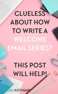 Clueless about how to write a welcome email series? Click through to get a template that you can use for your own welcome on boarding.