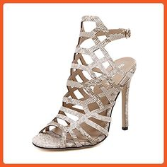 4f80c767b High Quality Thin High Heel Sandals Ankle Strap Women Gladiator Sandals  Ladies High Heels Mules Summer Shoes Plus Size