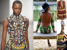 www.cewax.fr aime ce look en wax. Mode femme afro tendance, style ethnique, tissus africains: wax, ankara, kente, kitenge, bogolan... African Fashion, ethno tendance, African Prints, African clothing