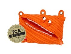 Kid Tested Teacher Approved! Award winning Monster 3 Ring Pouch