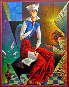 Coffee time          Georgy Kurasov   born 1958 in Saint Petersburg, Russia   more:  Google pictures  Kurasov fine art  Facebook  YouT...